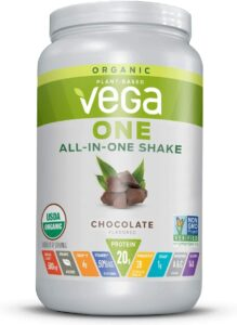 最佳多合一植物性蛋白粉 Vega One Organic Meal Replacement Plant Based Protein Powder