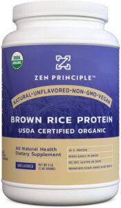 最佳有机糙米蛋白粉 Organic Brown Rice Protein Power