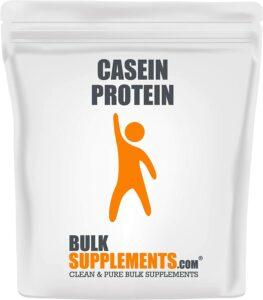 最好的酪蛋白粉 BulkSupplements.com Casein Protein Powder
