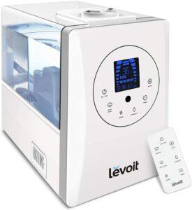 用于超干燥空间的超声波加湿器 Levoit Warm and Cool Mist Ultrasonic Air Vaporizer