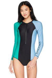 纯色女士泳衣 Volcom Women's Simply Solid Swim Bodysuit