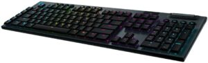 罗技G915无线机械游戏键盘 Logitech G915 Wireless Mechanical Gaming Keyboard