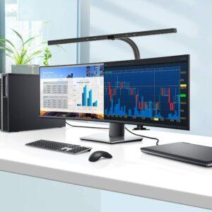 适合宽显示器用的桌面台灯 Eppiebasic LED Desk Lamp