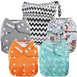 ANMABABY口袋布尿布 Anmababy Washable Pocket Cloth Diapers