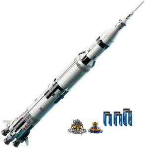 LEGO Ideas NASA Apollo Saturn V 21309 Outer Space Model Rocket