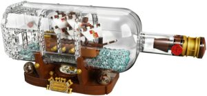 LEGO Ideas Ship in a Bottle 92177 Expert Building Kit