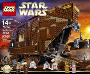 乐高玩具LEGO STAR WARS 75059 Sandcrawler