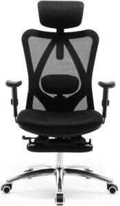 人体工学椅 SIHOO Ergonomic Office Chair with Footrest