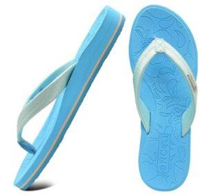 休闲人字拖 ONCAI Flip Flops For Women Yoga Mat Comfortable Beach Thong Sandals