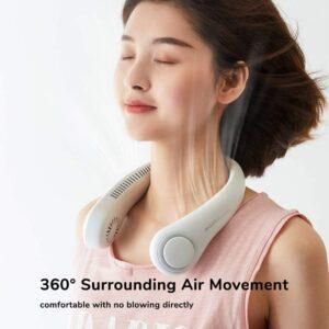 便携式风扇 JISULIFE Portable Neck Fan