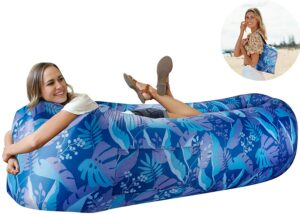 充气沙滩沙发 Wekapo Inflatable Lounger Air Sofa Hammock