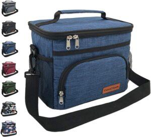 午餐袋 Insulated Lunch Bag for Women Men-Reusable Lunch Box