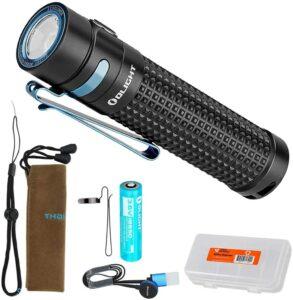 可充电LED户外手电筒 OLIGHT S2R II Rechargeable LED Flashlight