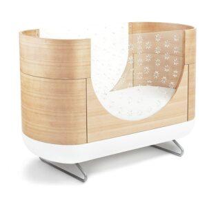 外形漂亮的可转换婴儿床 Pod 2-in 1 Convertible Crib
