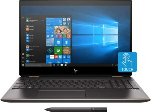 学生笔记本电脑推荐:惠普Spectre x360 HP Spectre x360 2-in-1 15.6 寸4K Ultra HD Touch-Screen Laptop