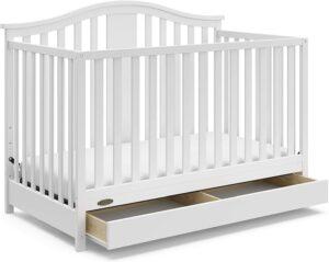 带抽屉的4合1可转换婴儿床 Graco Solano 4-in-1 Convertible Crib with Drawer