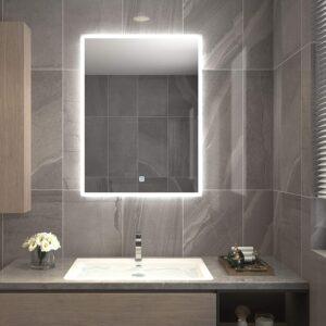 带蓝牙扬声器的Homecart智能浴室镜 Homecart Bathroom LED Smart Mirror