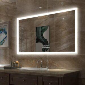 带触摸开关,除雾器,蓝牙,色彩亮度的GESIPOR智能镜 Gesipor LED Bathroom Mirror