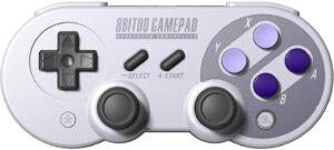 最佳复古游戏PC控制器 8Bitdo SN30 Pro Wireless Bluetooth Controller