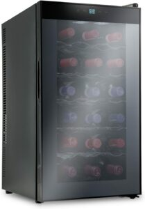 最佳18瓶装红酒柜 Ivation 18 Bottle Thermoelectric Red And White Wine Cooler