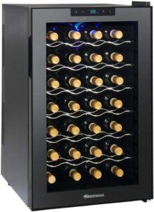 最佳28瓶红酒冷藏柜 Wine Enthusiast Silent 28 Bottle Wine Refrigerator