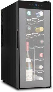 最受好评的酒柜 NutriChef PKTEWC120 Nutrichef 12 Bottle Thermoelectric Wine Cooler