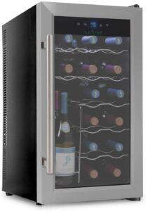 最好的15瓶装红酒柜 NutriChef Small Appliance 15 Bottle Compressor Cooler