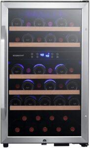 最好的38装瓶红酒柜 EdgeStar CWF380DZ 19 Inch Wide 38 Bottle Wine Cooler