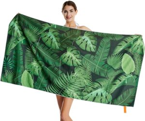 沙滩毛巾 CHARS Microfiber Quick Drying Beach Towel
