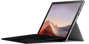 笔记本电脑推荐:微软Surface Pro 7 Microsoft Surface Pro 7 – 12.3寸 Touch-Screen