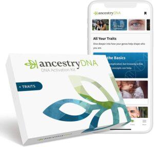 遗传基因测试 AncestryDNA
