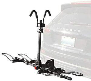 非常安全的 BV 2-Bike Bicycle Hitch Mount Rack Carrier for Car Truck SUV