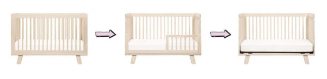3合1可转换婴儿床 Babyletto Hudson 3-in-1 Convertible Crib