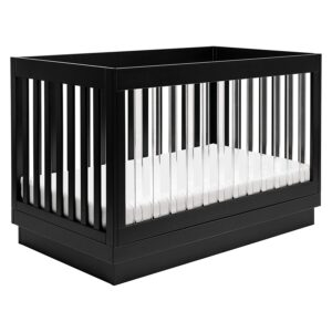 Babyletto Harlow三合一可转换婴儿床 Babyletto Harlow Acrylic 3-in-1 Convertible Crib