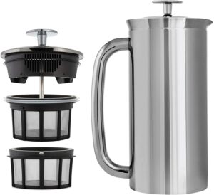 ESPRO P7 Double Walled Stainless Steel Insulated Coffee French Press