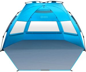 OutdoorMaster 弹出式3-4人沙滩帐篷 OutdoorMaster Pop Up 3-4 Person Beach Tent