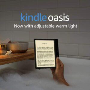 亚马逊的顶级电子阅读器 Kindle Oasis
