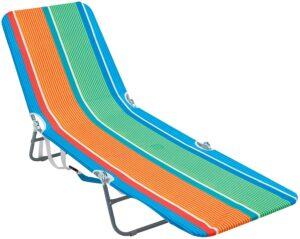 便携式折叠背包沙滩躺椅 Rio Beach Portable Folding Backpack Beach Lounge Chair