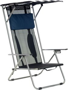 带遮阳帽的沙滩椅 Quik Shade Beach Recliner Shade Chair