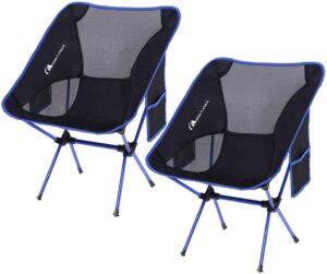 易于折叠和携带,最轻便的沙滩椅MOON LENCE Outdoor Ultralight Portable Folding Chairs