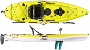 最佳踏板皮划艇 Hobie Mirage Passport 10.5' Pedal Fishing Kayak