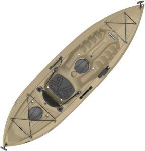 最佳钓鱼皮划艇 Lifetime Tamarack Angler 100 Fishing Kayak