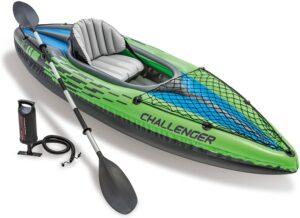 最佳预算皮划艇 Intex Challenger Kayak Inflatable Set with Aluminum Oars