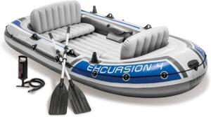最佳4人座皮划艇 Intex Excursion 4