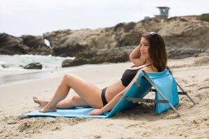 最简易的沙滩躺垫 ONIVA Beachcomber Portable Beach Mat