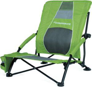 治疗背痛的沙滩椅 STRONGBACK Low Gravity Beach Chair with Built-in Lumbar Support