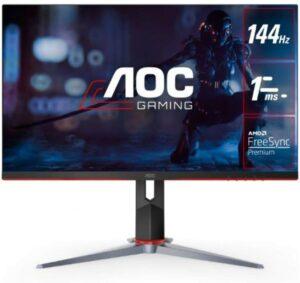 24寸2K 144Hz AOC无边框 1ms IPS游戏显示器 AOC 24G2 24inch Frameless Gaming IPS Monitor