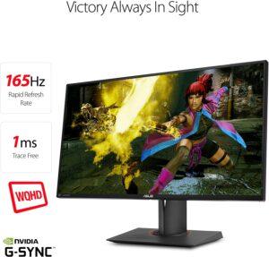 27寸华硕2K 1ms 165Hz 游戏显示器 ASUS ROG Swift PG278QR 27Inch Gaming Monitor