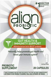 益生菌推荐Align Probiotic Gut Health & Immunity Support