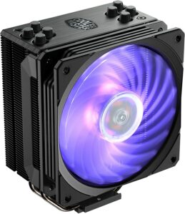 CPU散热器推荐Cooler Master Hyper 212 RGB Black Edition CPU Air Cooler